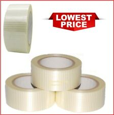 Cross Weave Extra Strong Fiberglass Reinforced Filament Security Tape75-50MMx50M