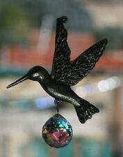 Lead Free Pewter Hummingbird Sun Catcher Made With Swarovski Crystal