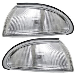 New Replacement for OE Auto Light Kit Driver /& Passenger Side LH RH Geo Prizm 1993-1997