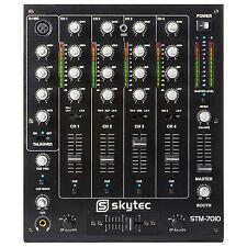 Skytec 172.880 DJ Mixer 4 Channels & USB Ssc1875