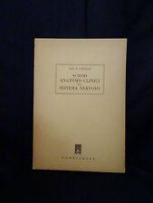 Sistemi anatomo clinici del sistema nervoso – Dott. P.Gomarasca Corticelli 1948
