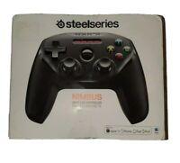 NIB SteelSeries Nimbus Wireless Gaming Controller Black Factory Seal Fast Ship