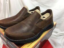 Skechers USA Men's Glides Calculous Slip-On Loafer, Dark Brown, Size 10.5 EE