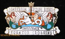 SHELLBACK HAT PIN USS EQUATOR CROSS KING NEPTUNE MERMAID ANCIENT ORDER OF DEEP