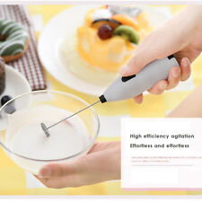 Mini Electric Hand-held Egg Milk Coffee Frother Mixer Kitchen Foamer Tool PB