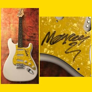 GFA The Adicts Band Singer KEITH MONKEY WARREN Signed Electric Guitar COA