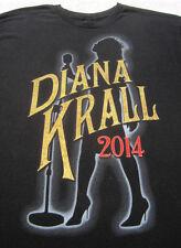 DIANA KRALL U.S. 2014 Tour LARGE concert T-SHIRT