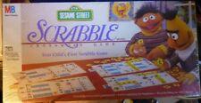 1992 Milton Bradley Sesame Street SCRABBLE Milton Bradley SEALED New