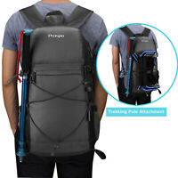 40L Waterproof Collapsible Backpack Outdoor Sport Travel Hiking Camping Rucksack