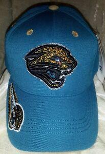 Jacksonville Jaguars Women's Ladies Rhinestone Bling NFL Cap Hat ~NEW~