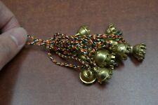 "12 Pcs Rusty Iron Metal Jingle Christmas Decoration Charm Bells 5/8"" #47"