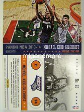 PANINI NBA (ADRENALYN XL) 2013/2014 - #020 Michael Kidd-Gilchrist-above the