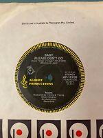 "AC/DC – Baby, Please Don't Go / Love Song (Oh Jene) 7"" Vinyl 1975 Aussie Press!"