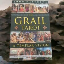The Grail Tarot A Templar Vision John Matthews OOP HTF