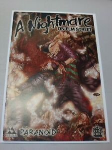 A Nightmare on Elm Street Paranoid #1 Gore Variant- Freddy Krueger - Avatar  NM+
