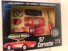 1957 Corvette Die Cast Ertl Kit 1:64 Fully Detailed