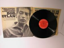 Bob Dylan: The Times They Are A-Changin' LP XLP 75527 Grade: G