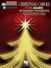 Christmas Carols : French Horn Easy Instrumental Play-Along Book