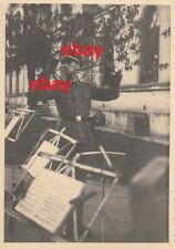 Orig. Foto Musikzug Kradschützenregiment T-Div. Frankreich Elitesoldaten 1942