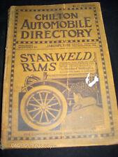 Chilton January 1916 Automobile Directory Volume 8 No. 1 WYMAN & GORDON Lot #399