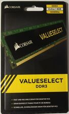 Corsair valueselect ddr3 2x4gb 1333mhz SO-DIMM-nuevo-cmvo 8gx3m2a1333c9