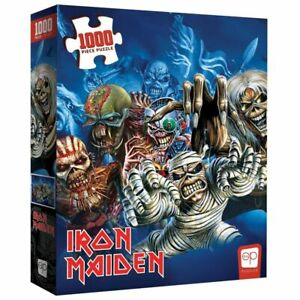 USAOPOLY,  Iron Maiden Faces of Eddie 1000 Piece Puzzle