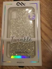 Case Mate Twinkle Case Cover for Apple iPhone XR Stardust
