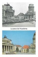 WW2 - Berlin-Est - La Place de l'Académie - Platz der Akademie - 1945/1985 -