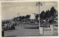 Postcard - Clacton on Sea - West Cliff Promenade and Gardens