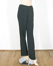 Vince Side Zip Trousers Pants Black Wide Leg Side Zipper Flat Front 0 9593