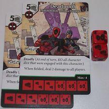 2 X DEADPOOL: MMMMMM CHIMICHANGAS 50 Deadpool Dice Masters