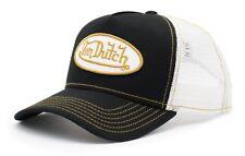 VON van DUTCH MESH TRUCKER BASE CAP [CLASSIC BLACK/WHITE] MÜTZE BASECAP KAPPE HU