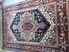HANDMADE  PERSIAN SERAPI RUG  4 X 6# 8385 A