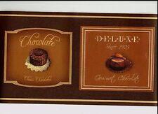 CHOCOLATE DELIGHT DESSERTS BY GRAMERCY WALLPAPER BORDER 687820