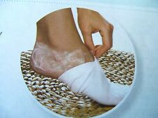 AVON  FOOT MOISTURISING  PEDICURE SOCKS 92% cotton 8% elastane
