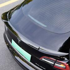 17-19 Tesla Model 3 3dCarbon Lip Spoiler Painted Eclipse Black 694040-PBSB