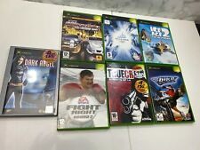 Xbox Original Game Bundle x7 No Manuals Tested Working Midnight Club Ice Age