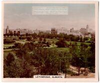 Lethbridge Alberta Canada 1930s Trade Ad  Card