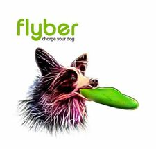 Flyber Dog Toy double-sided flying Floating Soft Bite Disc Outdoor indoor