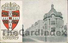 CAMBRIDGE Street Scene Postcard CAMBRIDGESHIRE F.S.O. Crest