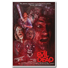 The Evil Dead 1981 Classic Horror Movie Silk Poster 13x20 24x36 inch