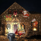 Colorful Christmas Christmas Decoration LED Light Auto Moving Outdoor Projector