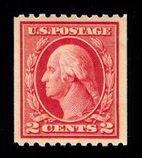 Momen: Us Stamps #442 Coil Single Mint Og Nh Xf-Sup