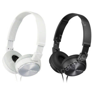 NEW Sony MDR-ZX310 Stereo / Monitor Over-Head Headphones Blue Black NEW