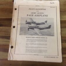 Pilot's Handbook for Army Model P-82E Airplane