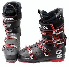 Rossignol All Trak 90 Unisex Ski Boots Mondo 25.5 Mens 7.5 Black/Red- USED