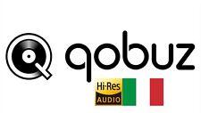 Qobuz Studio Hi-Res 12 Mesi - Con Il Vostro Conto Personale - Italia