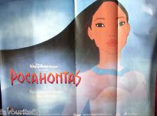 Cinema Poster: POCAHONTAS 1995 (Advance Quad) Mel Gibson Christian Bale