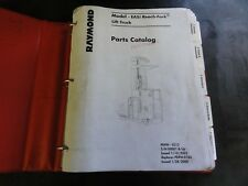 Raymond EASi Reach Fork Lift Truck Parts Catalog Manual  PDPM-0213
