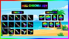 Murder Mystery 2 - MM2 FULL Chroma Set ( Chroma Weapons + Pets ) *BEST PRICE*